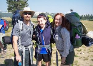Backpacking in Yosemite National Park, 2013