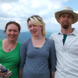 Us on Mt.Mitchell NC, July 2014.